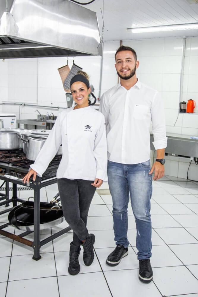 Christhiano e Maria Cândida